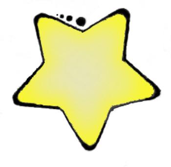 CLIP ART-YELLOW STAR - TeachersPayTeachers.