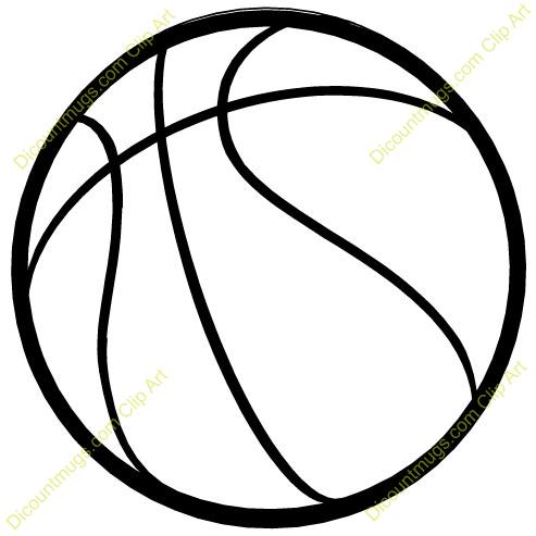 Clipart 10150 Basketball .