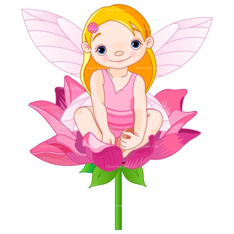 Clipart Baby Fairy Royalty Free Vector Design