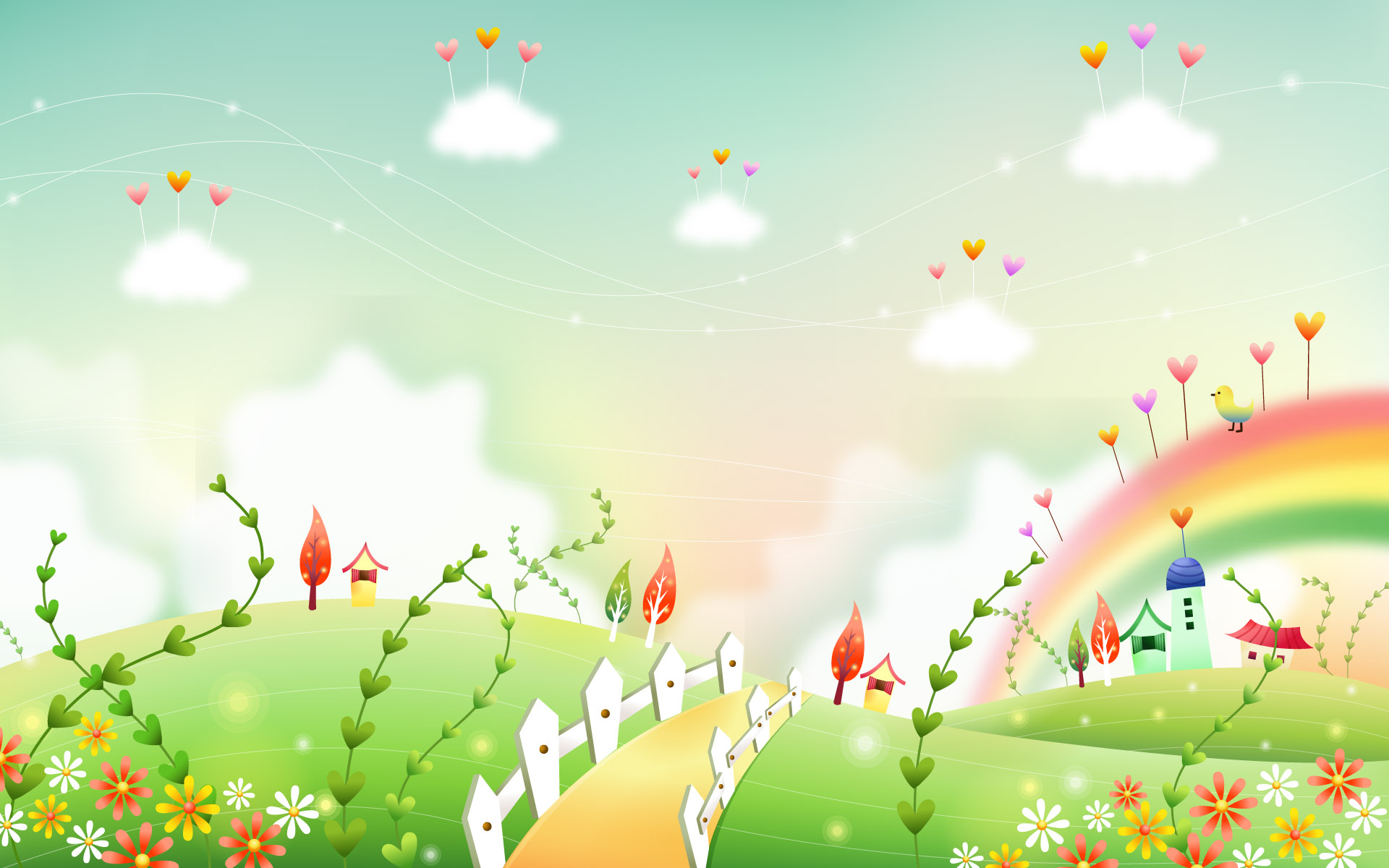 Clipart background timy