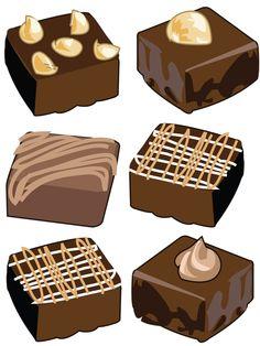 clipart bonbons