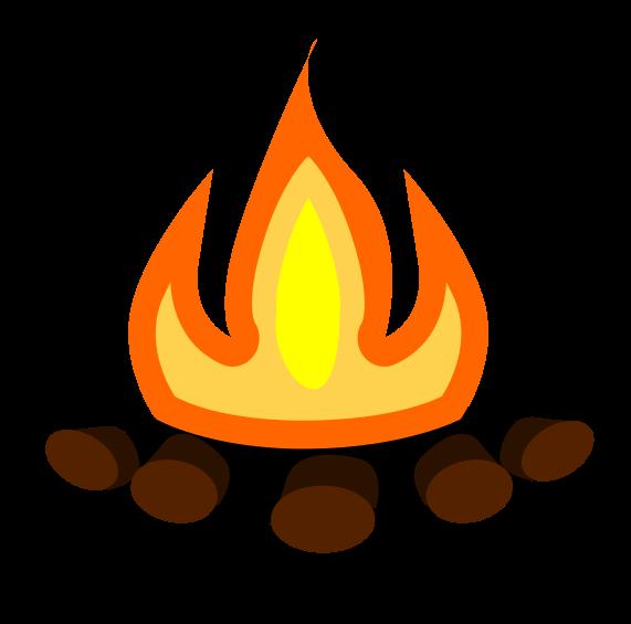 Clipart Bonfire