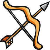 Clipart Bow And Arrow - ... English Exercises: .
