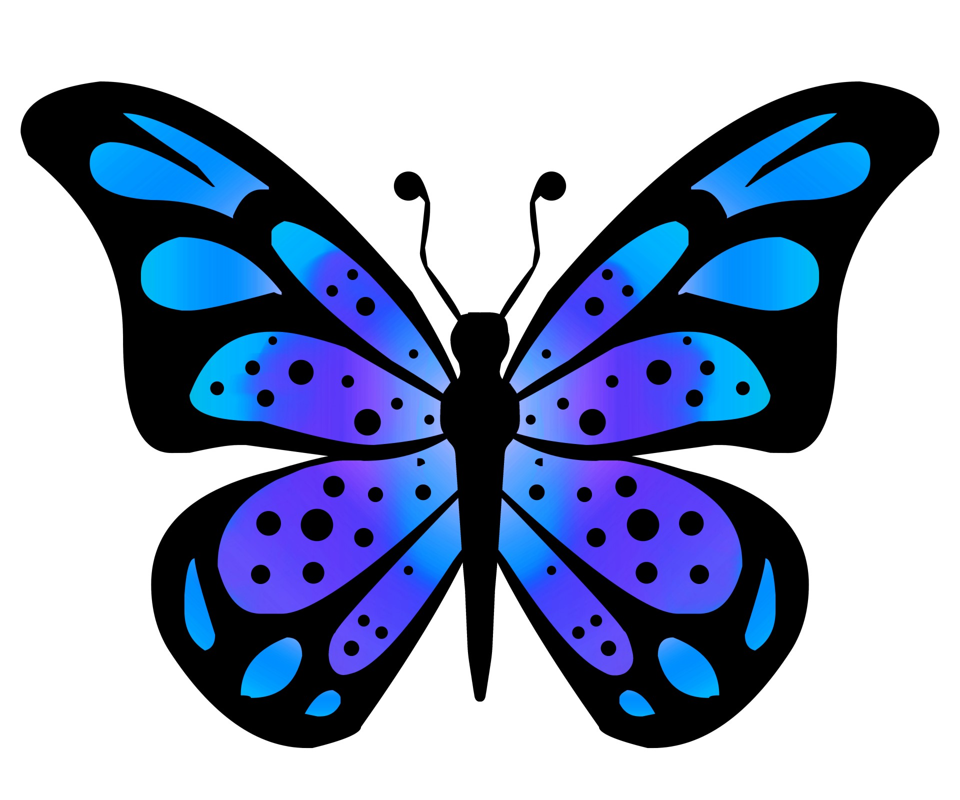 Clipart Butterfly 3 .