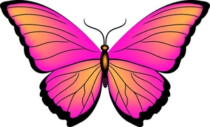 clipart butterfly