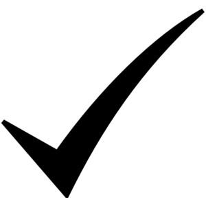 Clipart check mark clipart