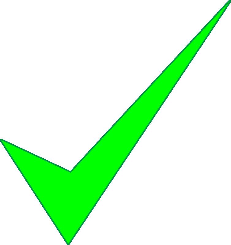 Clipart check mark cv sample stanford