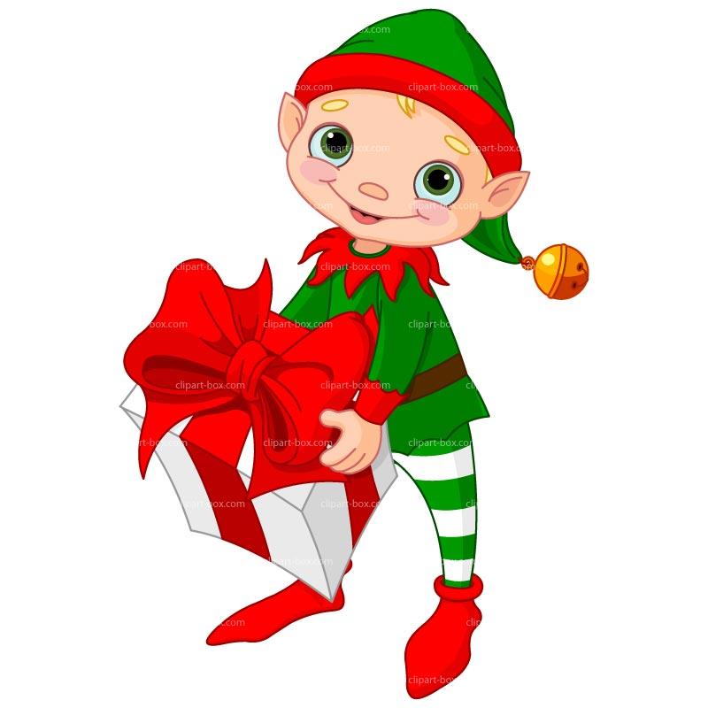 Clipart Christmas Elf