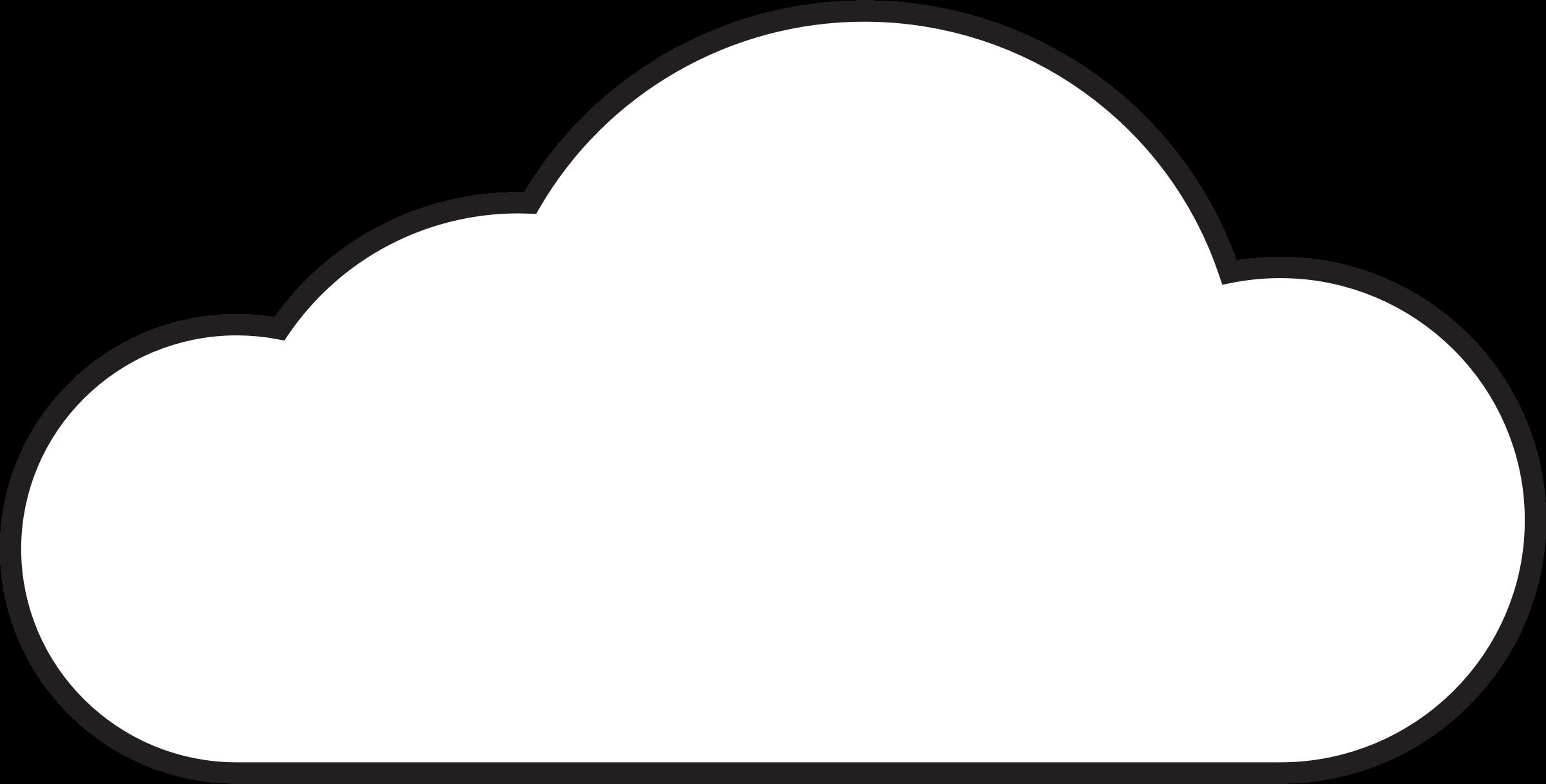Clipart Cloud .