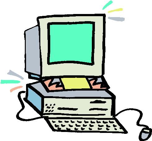clipart computer - Computer Clip Art
