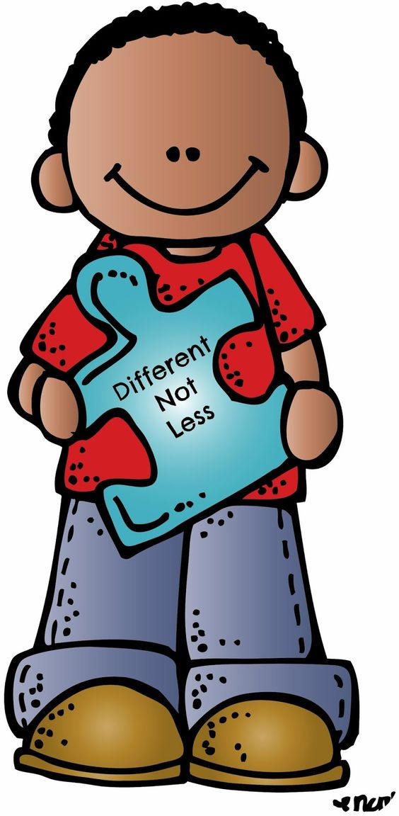 Clipart created by Melonheadz Illustrating in honor of Autism Awareness month.