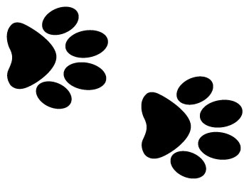 Clipart dog paw print clipart 2 image 2