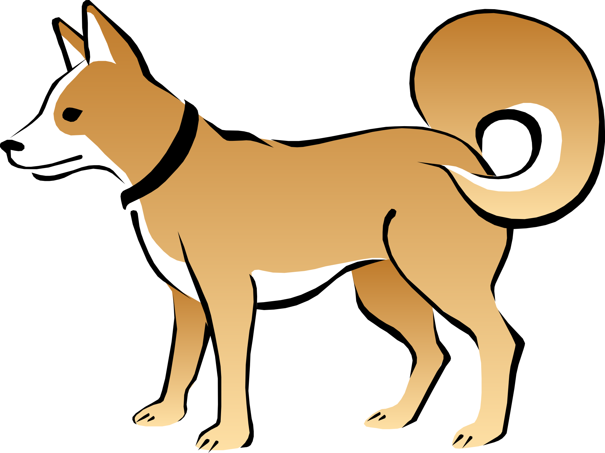 Clipart dogs free images 2
