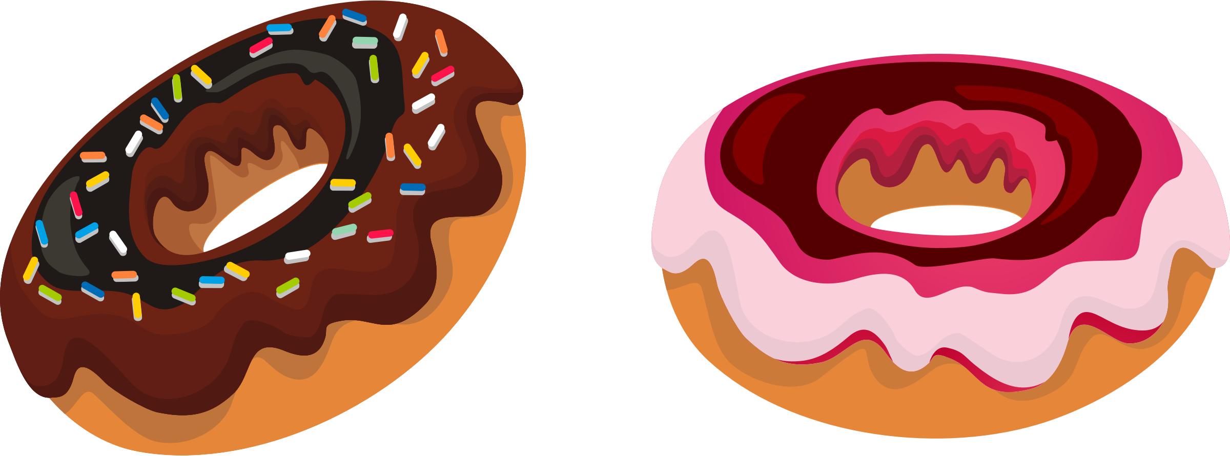 clipart donut