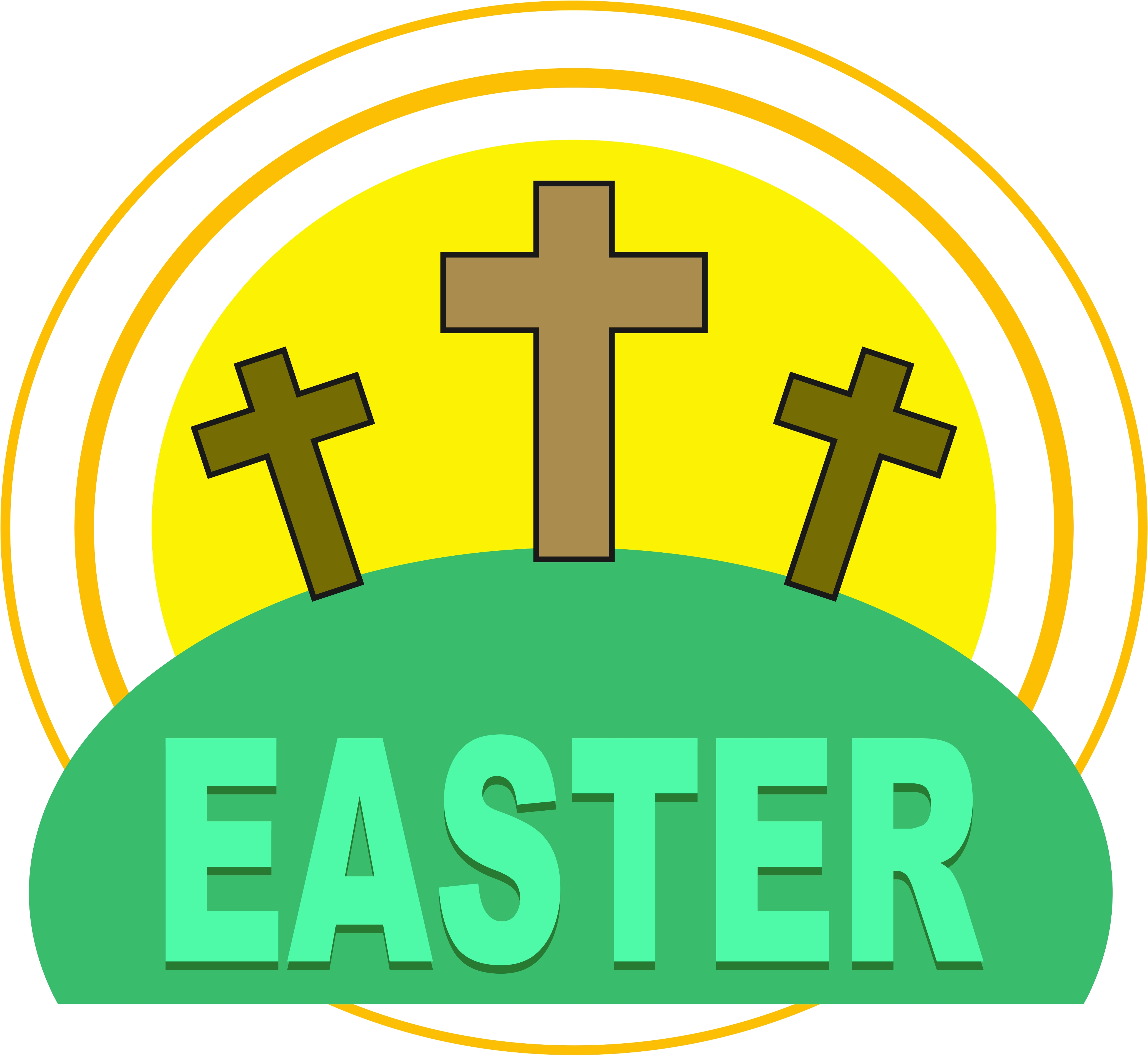 Clipart easter religious - .