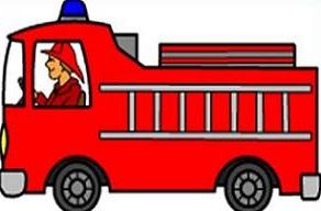 Clipart Firetruck - Getbellhop
