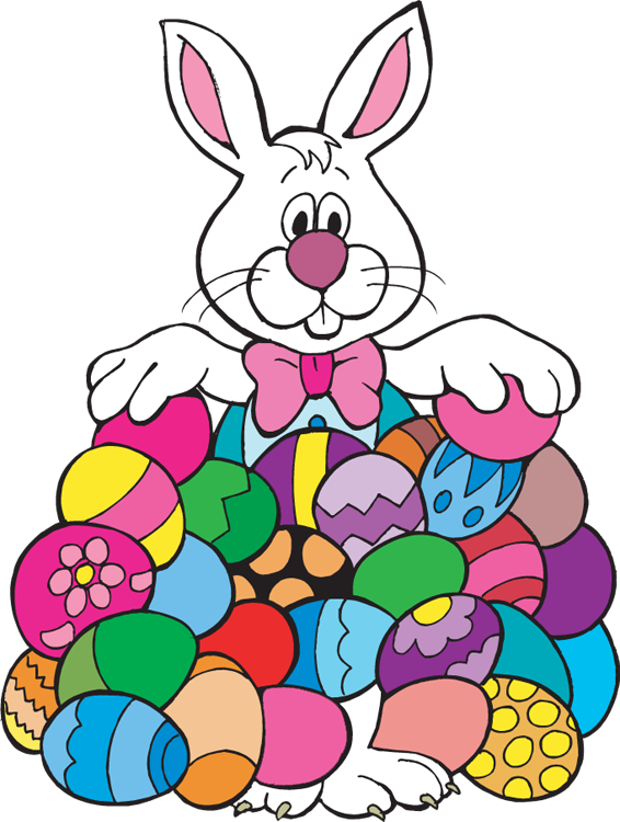 Clipart For Easter Bunny. Bun - Easter Bunny Clipart