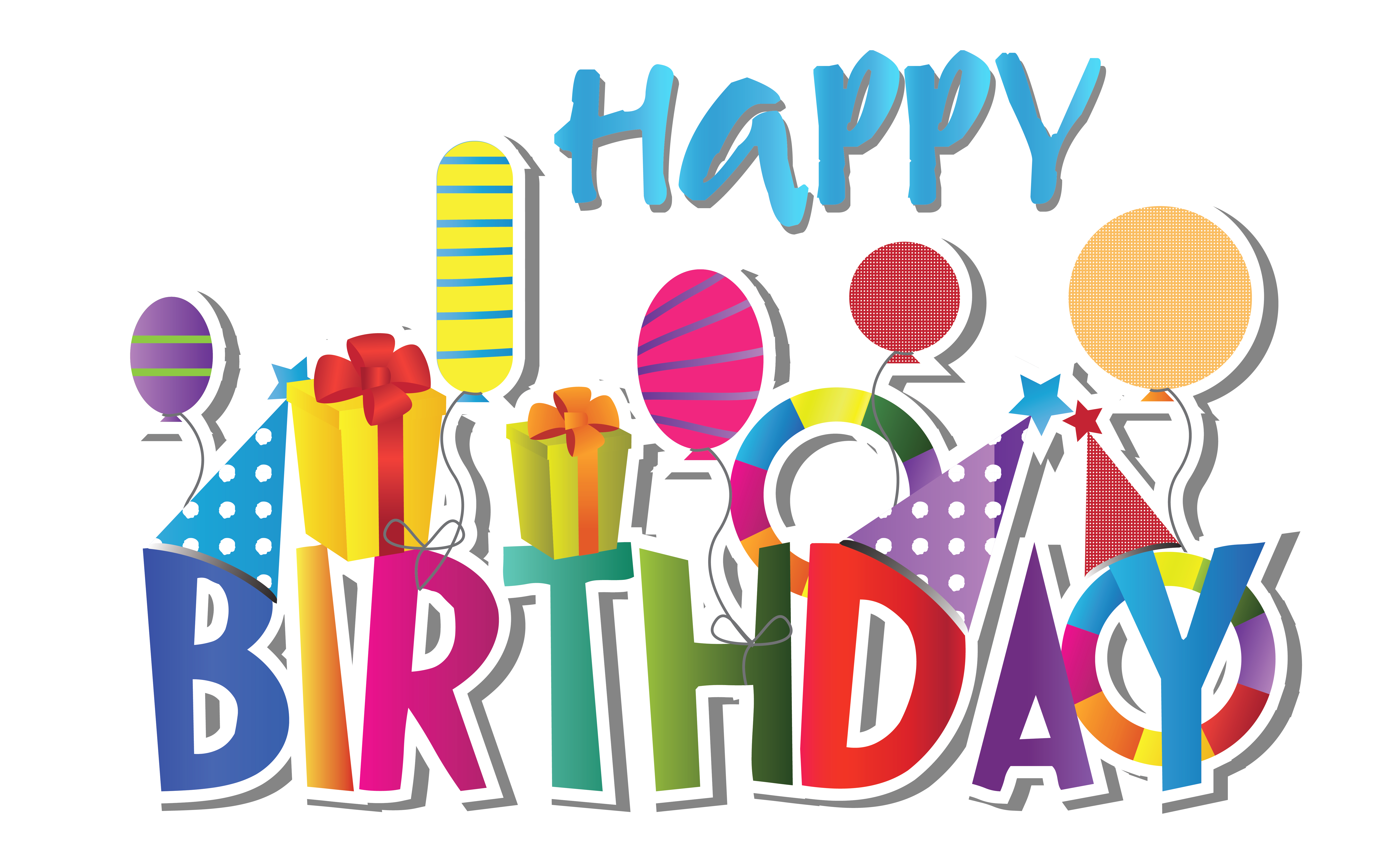 Clipart for happy birthday - ClipartFest