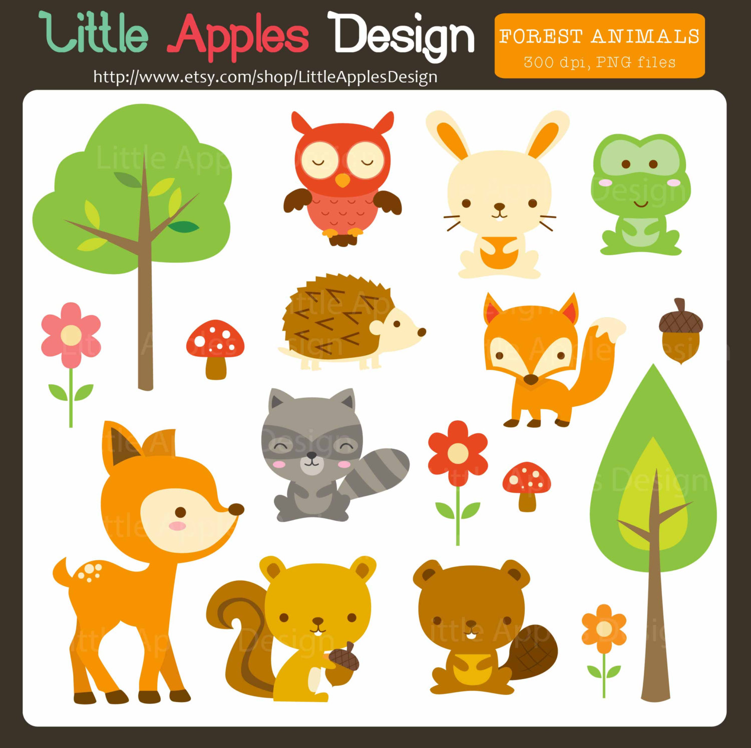 ... Clipart / Forest Animal Clip.