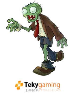 clipart free zombie faces   Plants Vs Zombies - Render 1 by ~teky-gaming