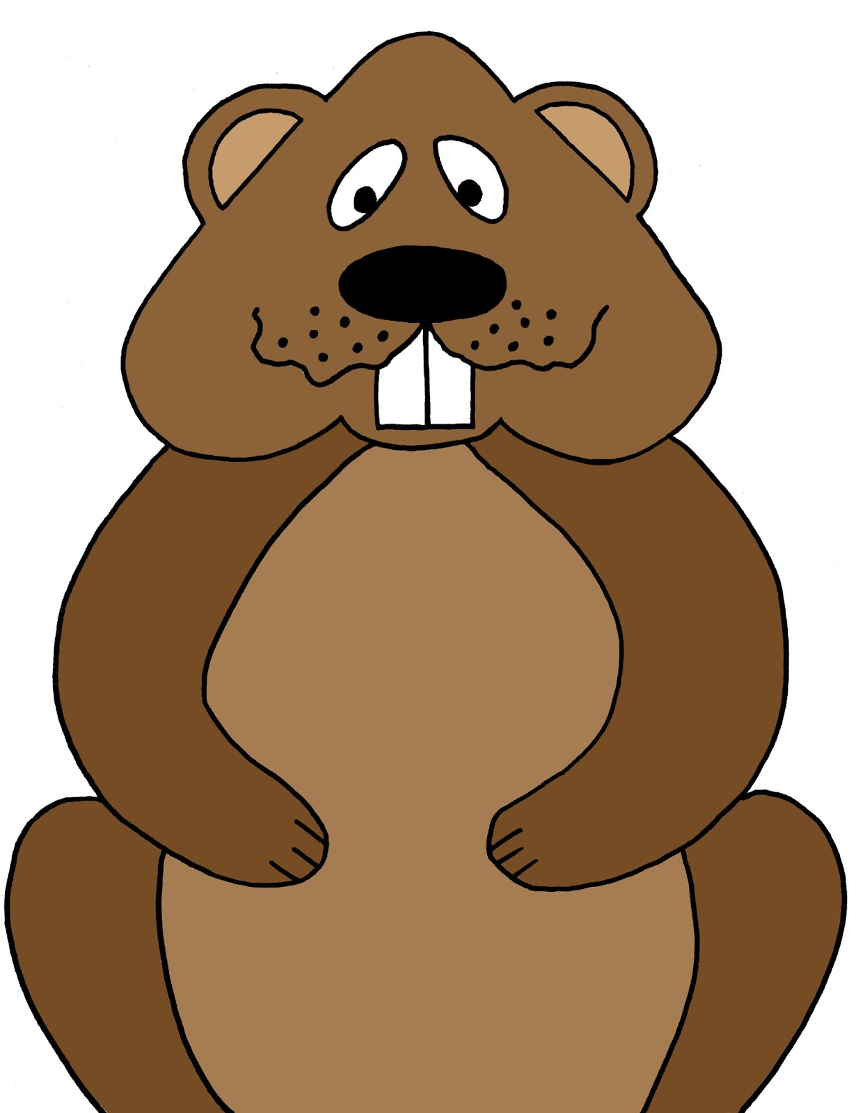 Clipart groundhog clipart