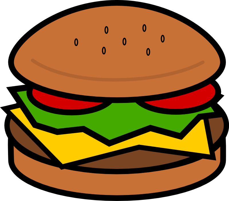 Clipart - Hamburger - Hamburger Clipart