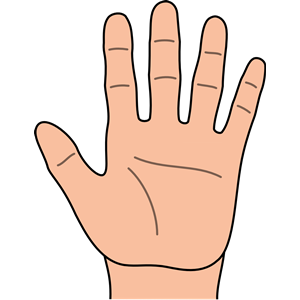 Hand clipart cliparts for you