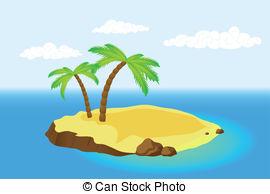 clipart island