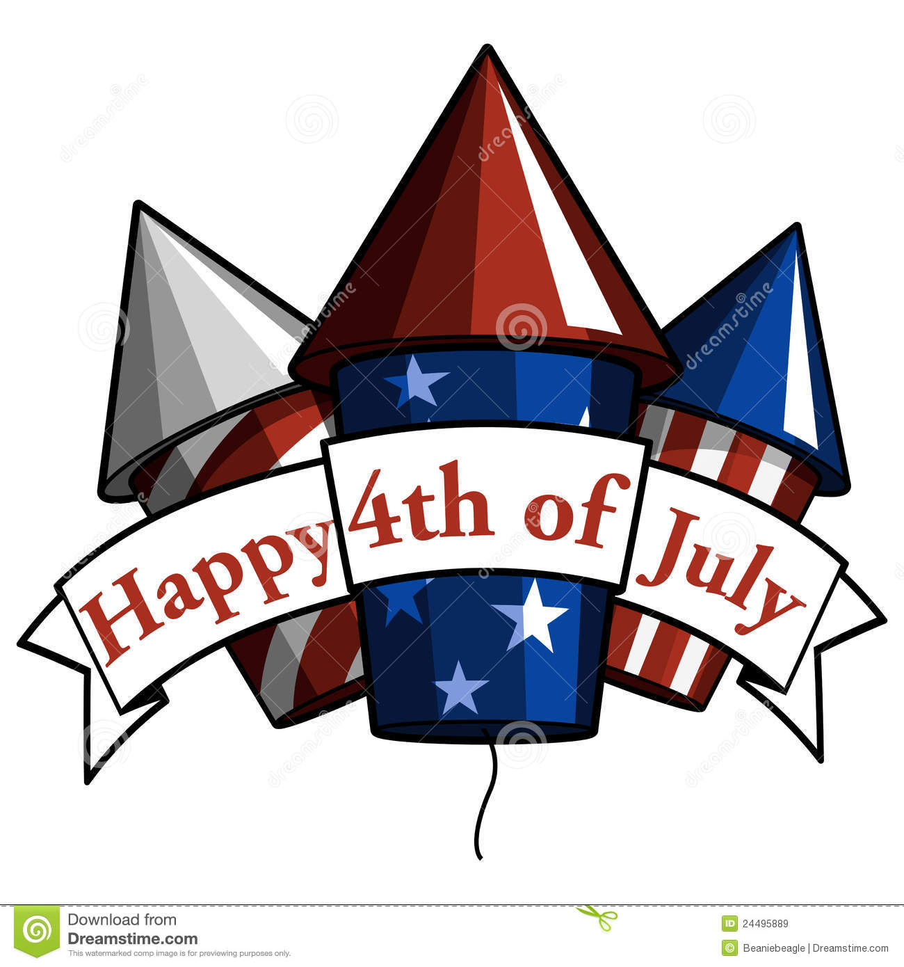 Clipart july 4th - ClipartFest