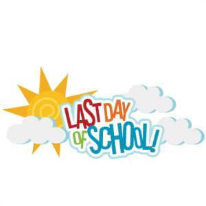 ... Clipart last day of school ...