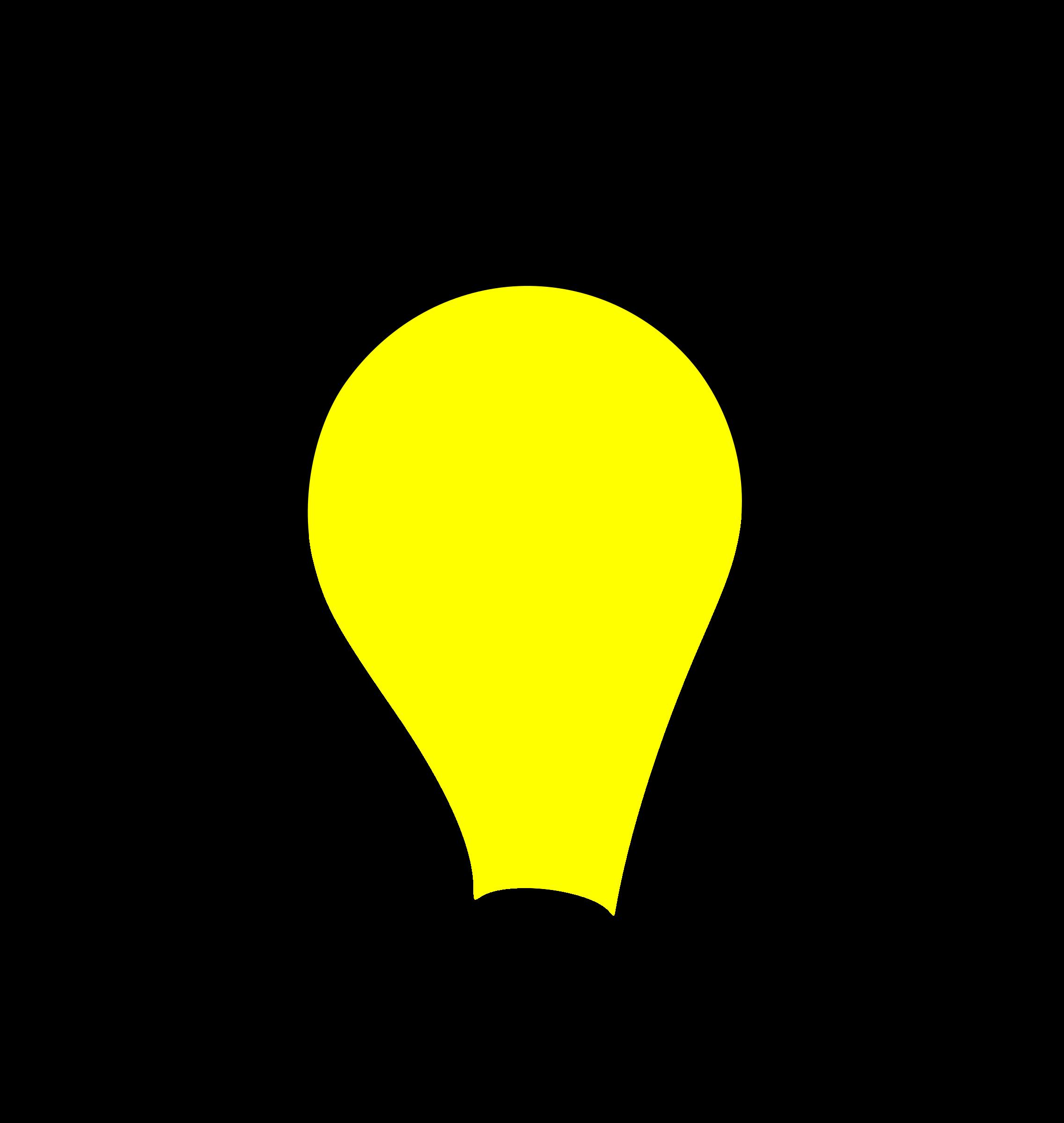 Clipart light bulb lit clipartbold