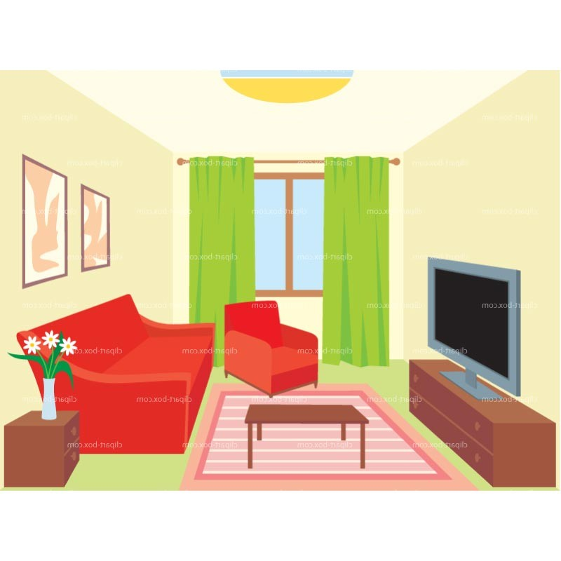 Clipart Living Room Royalty .