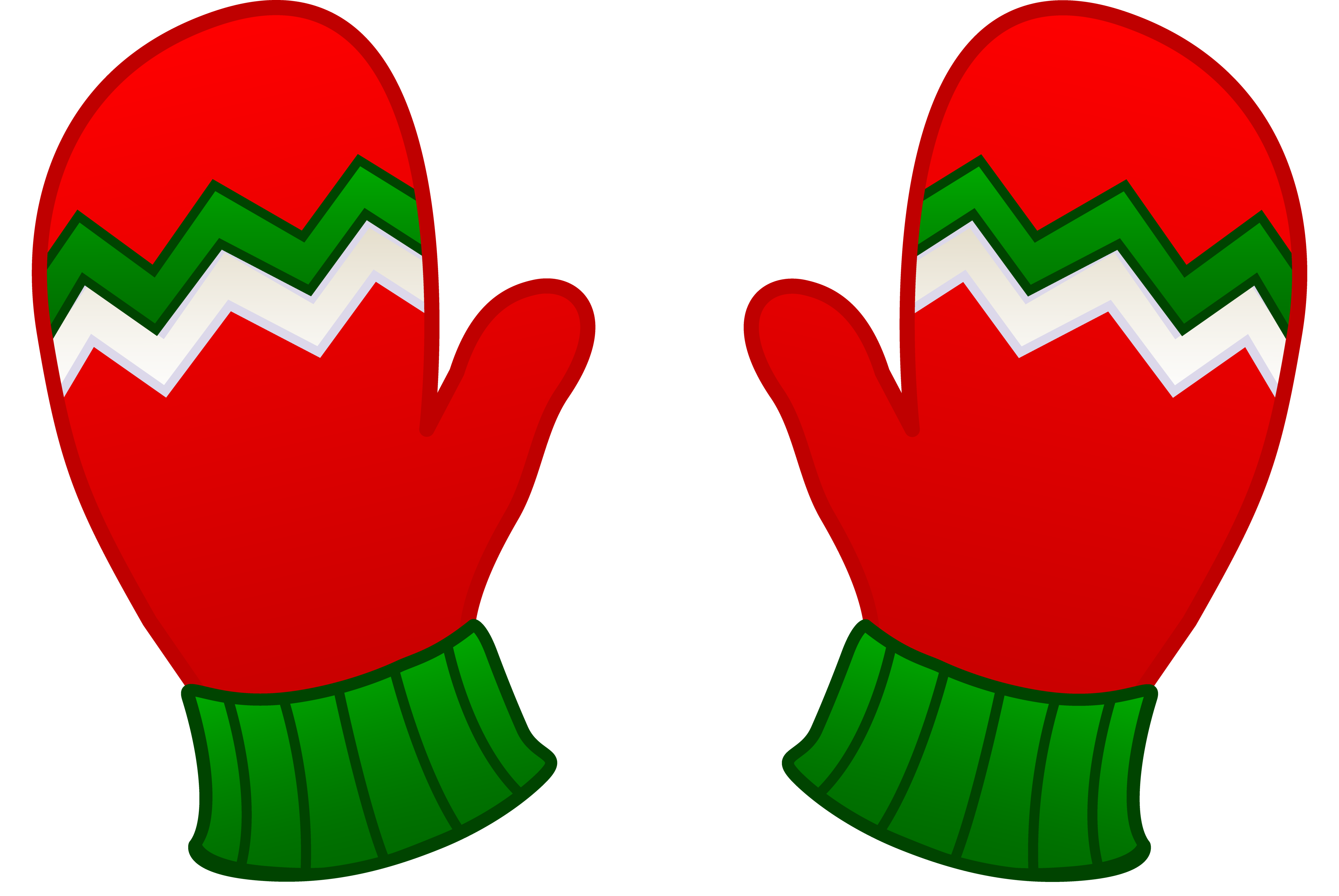 Clipart Mittens Clipart - Free .