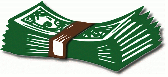 Clipart Money Bills