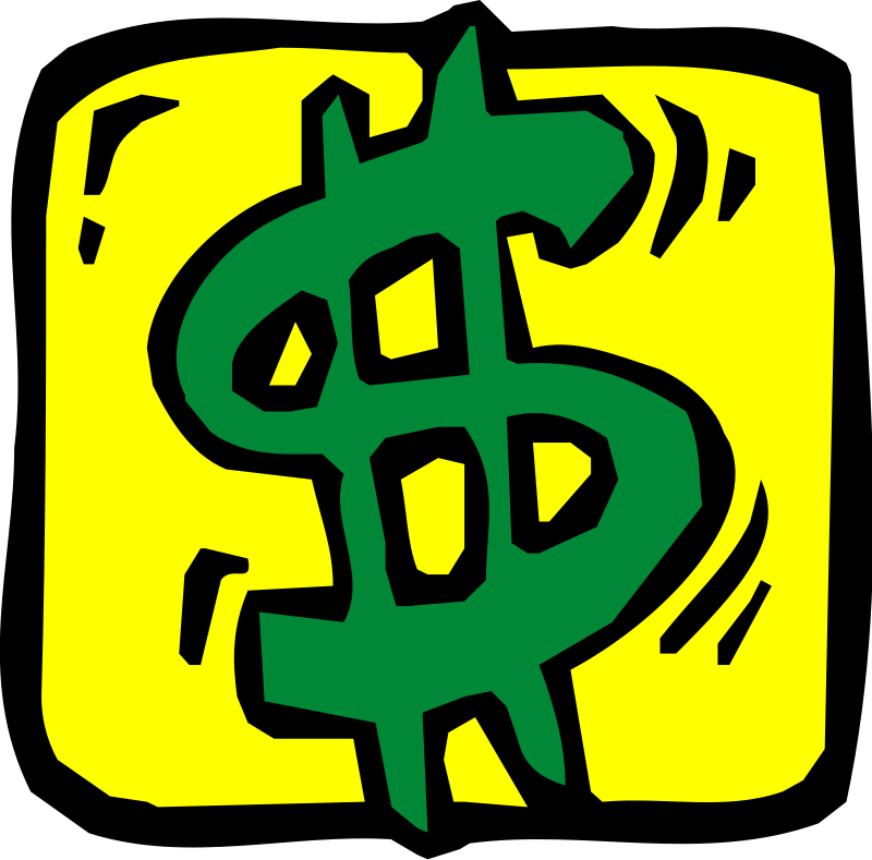 Clipart Money Sign Free Clipart Images