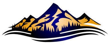 Clipart mountain range clipartall