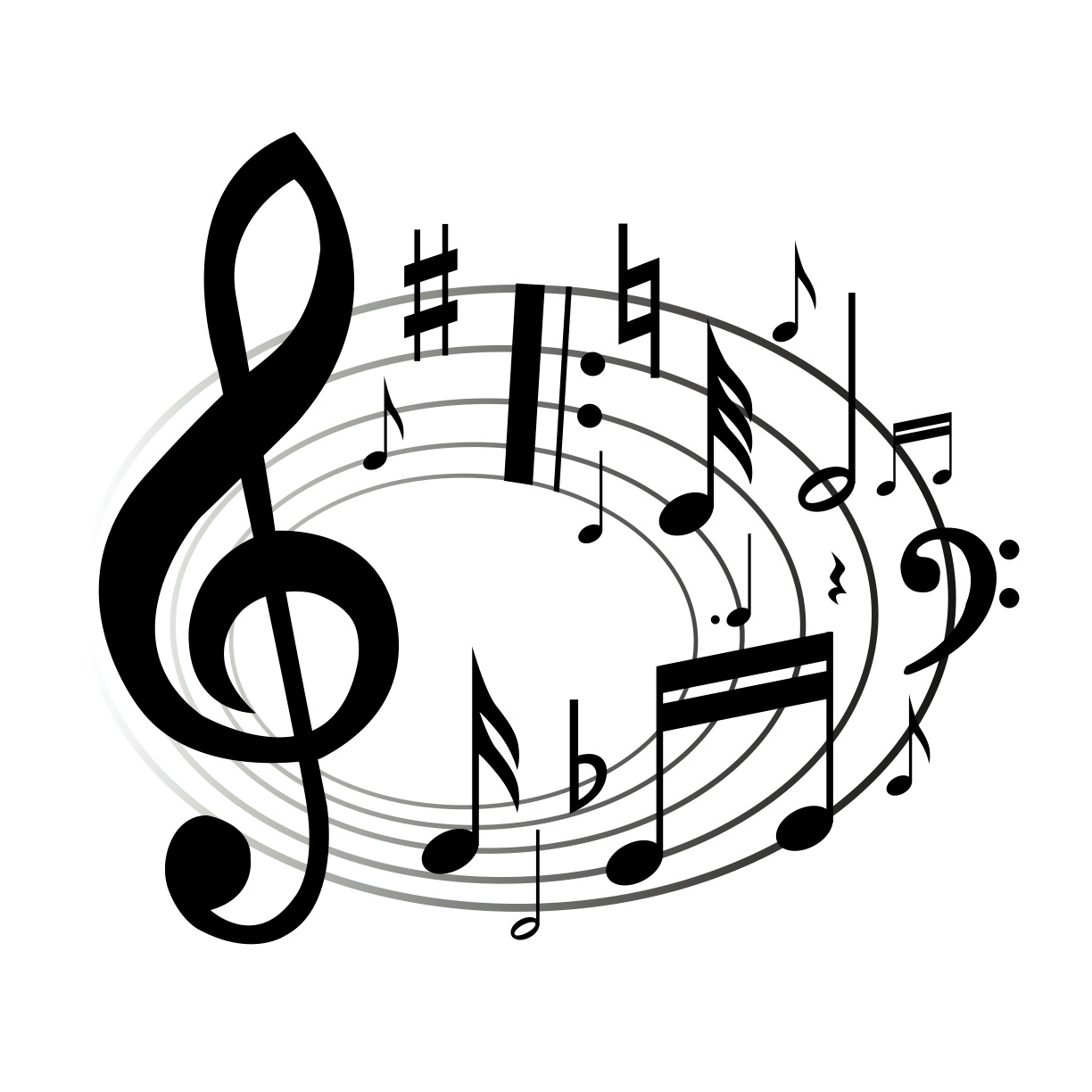 clipart music notes