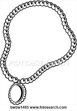 clipart necklace