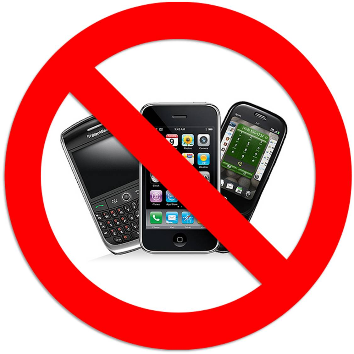 Clipart No Cell Phone