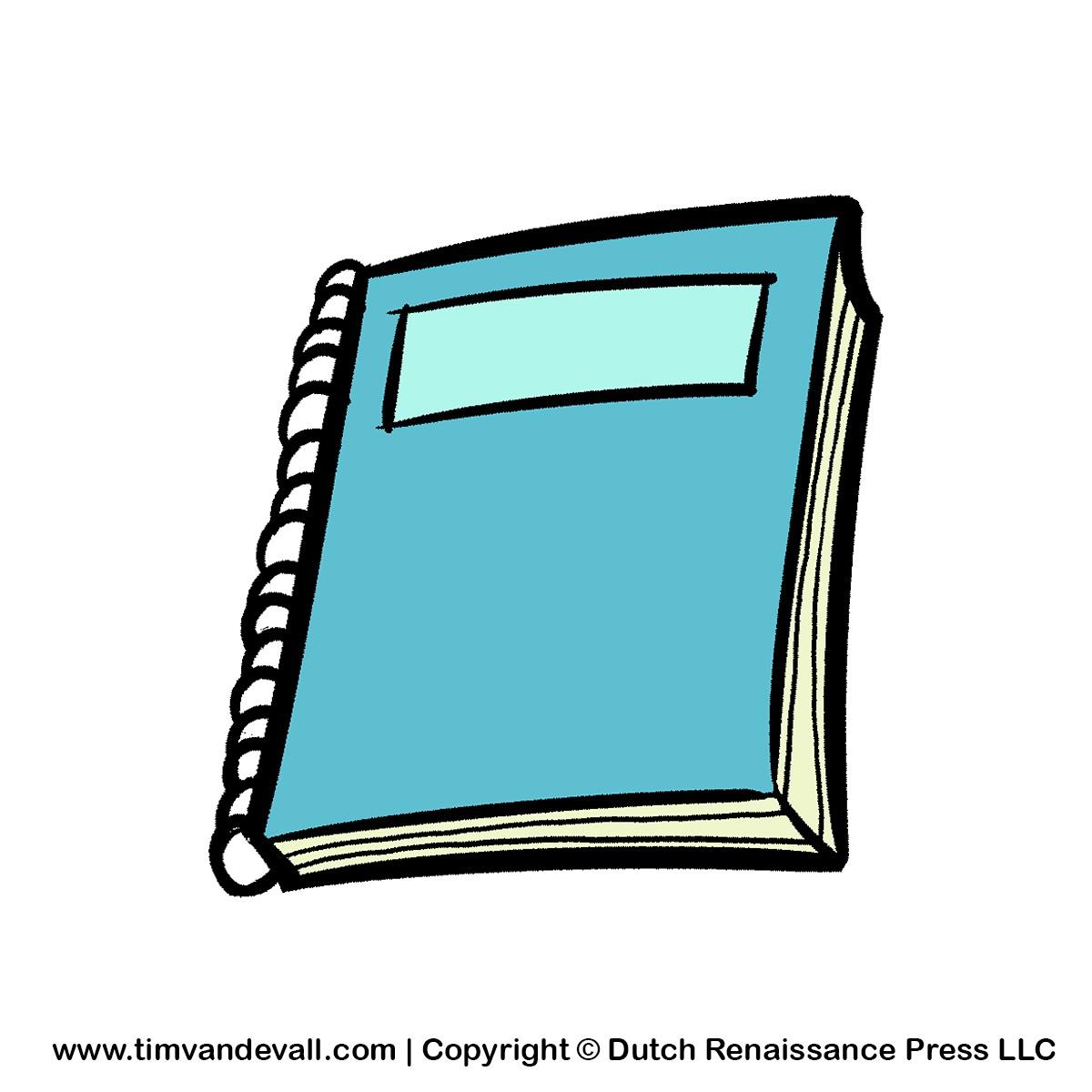 clipart notebook