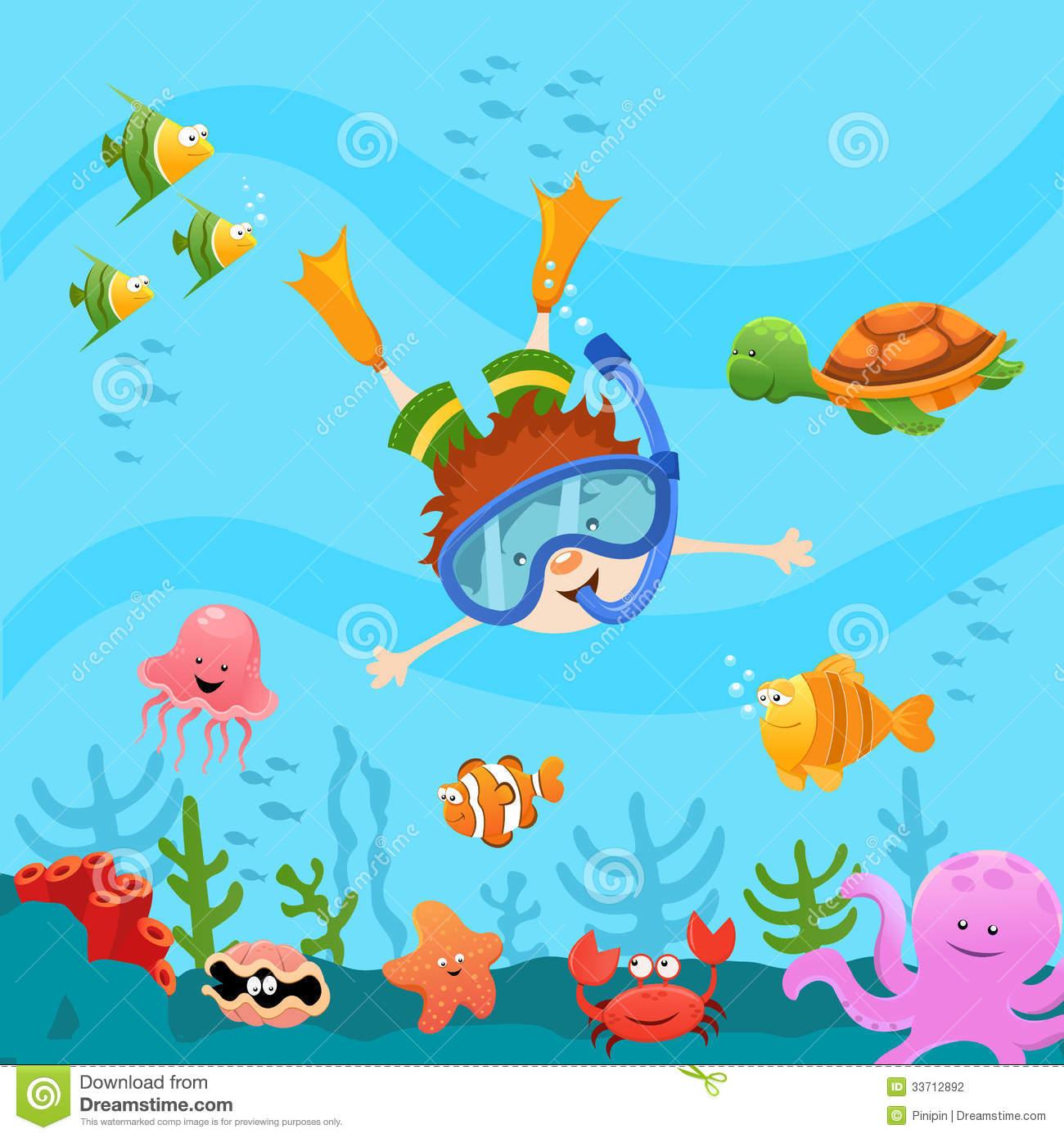 Clipart Ocean And Explore The Ocean