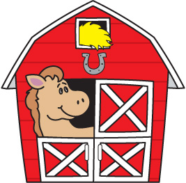 Clipart of barn - ClipartFest