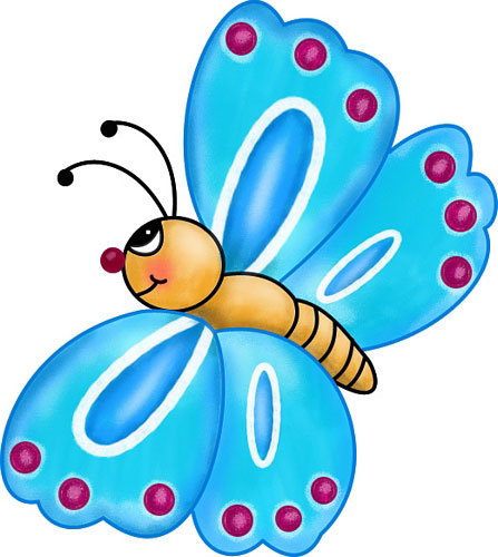 Clipart of butterflies illustration image