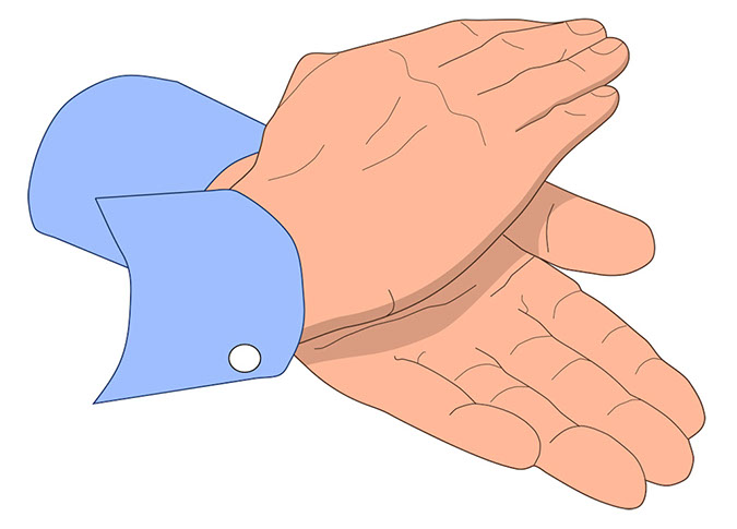 ... Clipart of clapping hands ...