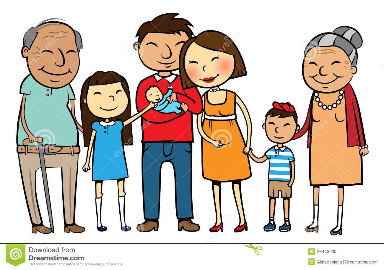 clipart of family