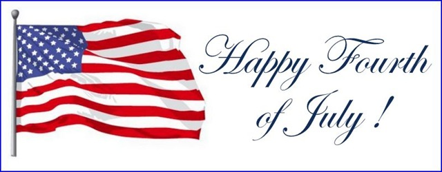 Clipart Of Happy 4th Of July 6