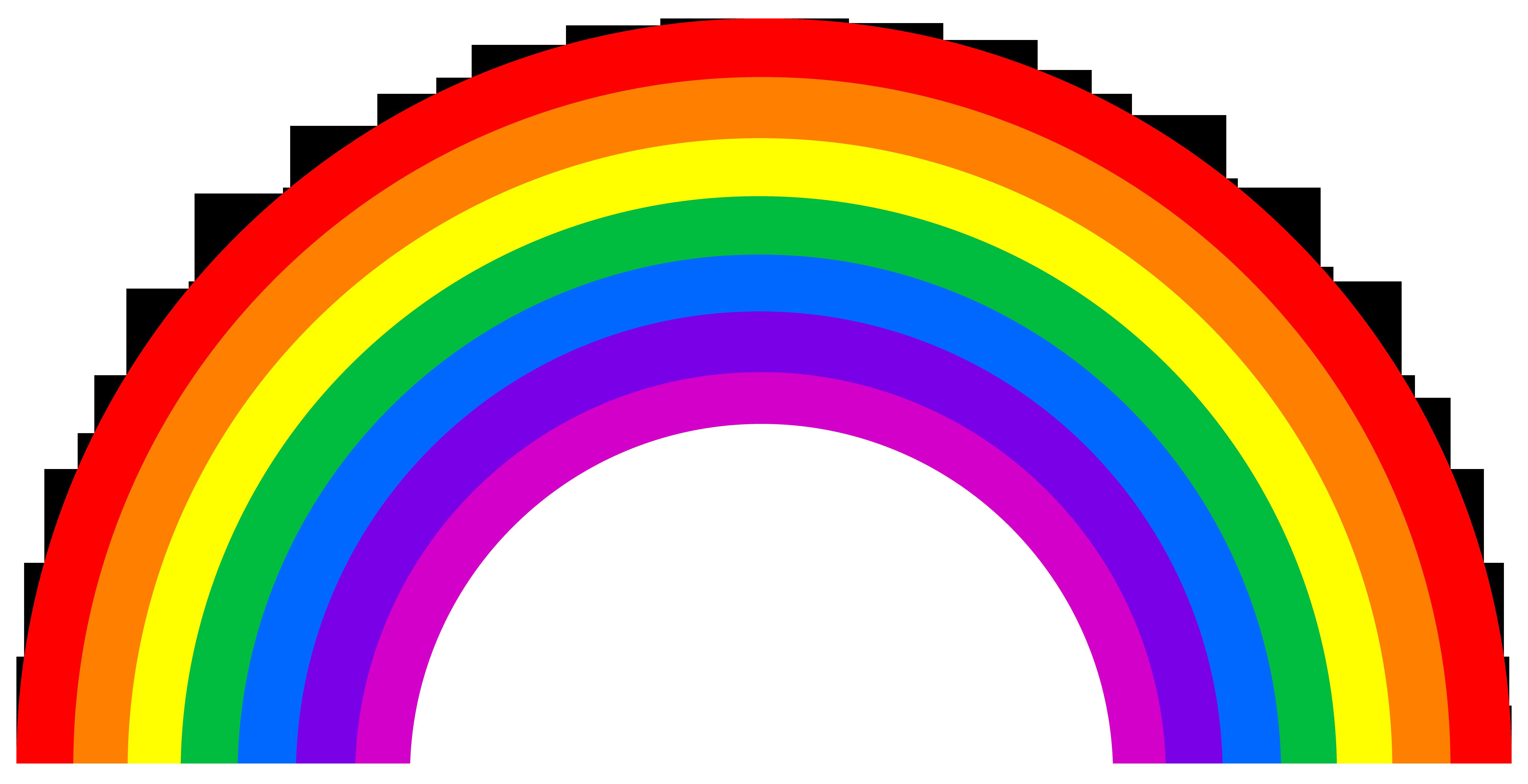 Clipart Of Rainbows - Rainbow Clipart