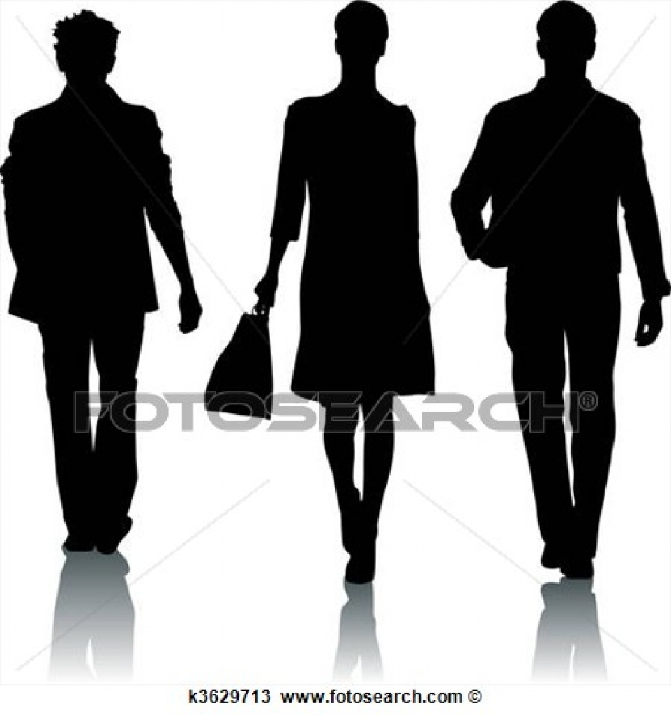 clipart of silhouette fashion woman and man k3629724 search clip throughout fashion show clipart fashion show clipart