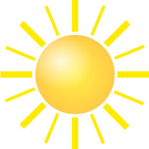 Clipart of sunshine clipart