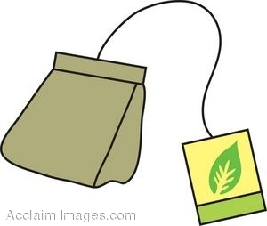 Clipart Picture Of A Tea Bag